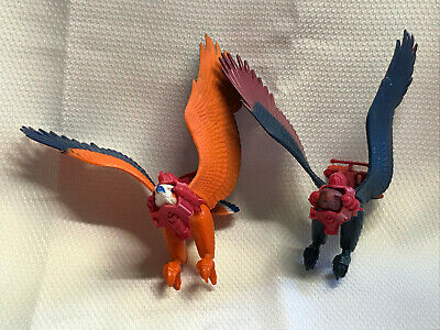 $39.95 • Buy Vtg 1972 He-man Master Of The Universe Screech And Zoar Falcon Action Figures