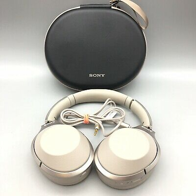 $ CDN159.90 • Buy Sony WH-1000XM2 Bluetooth Noise Cancelling Headband Headphones W/ Case - Tan B41