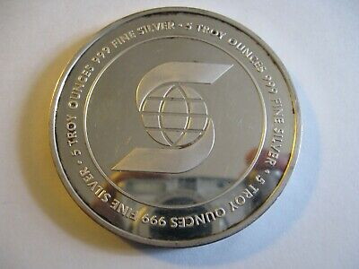 $ CDN250 • Buy Collectible Scotiabank 5 Oz 999 Silver Round