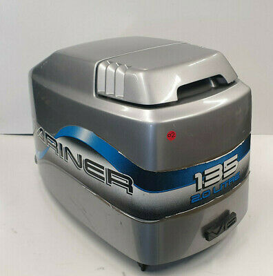 AU495 • Buy Cowling Mercury Mariner Top Lid Cover Motor 135 150 175 200 Hp Outboard Engine