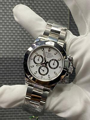 $ CDN40216.53 • Buy Rolex Daytona 116520 Stainless Steel White Dial Brand New In Box Full Stickers