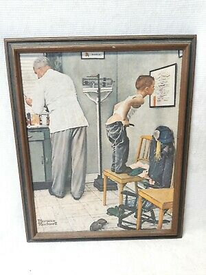 $ CDN31.99 • Buy Norman Rockwell Framed Canvas Painting March 15 1958