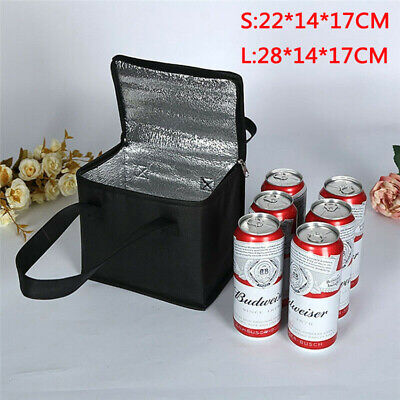 UK S/L Size Insulated Cooler Cool Bag Box Picnic Camping Food Drink Ice • 3.79£