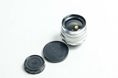 $ CDN106.40 • Buy Mir-1 Grand Prix Brussels 1958 37mm F/2.8 M39 To M42 2.8/37 SLR Lens. EXC++