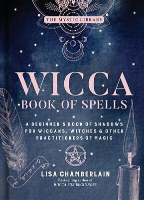 Wicca Book Of Spells A Beginner's Book Of Shadows For Wiccans, ... 9781454940821 • 9.95£