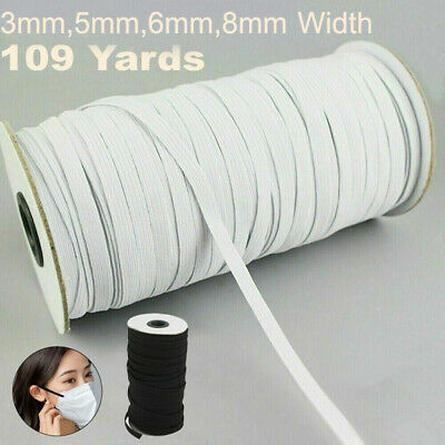 $ CDN18.29 • Buy Quality 109 Yards Length DIY Sewing Braided Elastic Band Cord Knitting Band