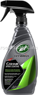 $20.32 • Buy Turtle Wax Hybrid Solutions Ceramic Spray Coating 53409 Hydrophobic -16 Fl Oz.