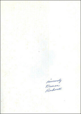 $ CDN624.18 • Buy Norman Rockwell - Book Signed