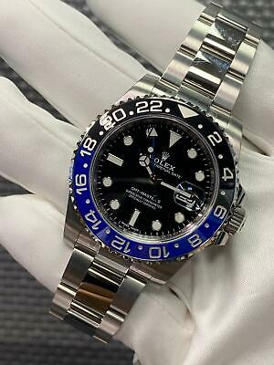 $ CDN22717.10 • Buy Rolex GMT-Master II 116710 BLNR Brand New In Box With Full Stickers