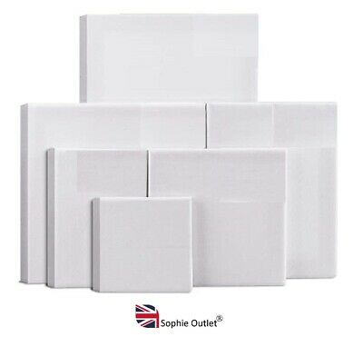 Professional Blank White ARTISTS CANVAS FRAME Painting Board Art Paint Craft UK • 6.35£