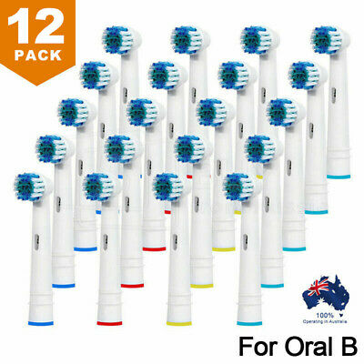 AU10.99 • Buy 12x Replacement Toothbrush Electric Brush Heads For Oral B Braun Models Series