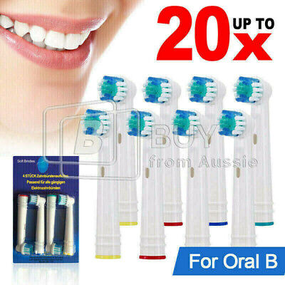 AU4.68 • Buy Replacement Toothbrush Electric Brush Heads For Oral B Braun Models Series AU