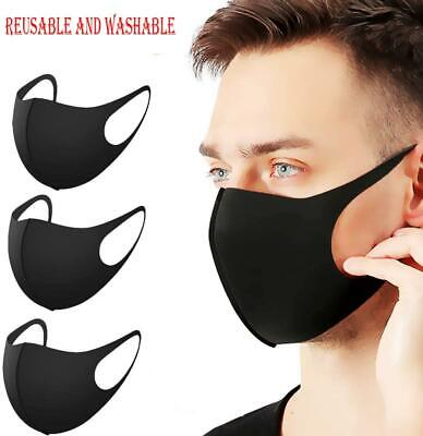 £1.49 • Buy Washable Reusable Earloop Anti Dust Mouth Face Mask Respirator Face Cover