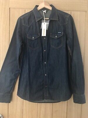 Diesel Sonora Denim Shirt Size S Unworn With Tags RRP £110 • 32£