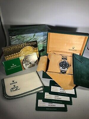 $ CDN23766.59 • Buy Preowned Rolex Explorer 1016 36mm SS Box & Papers Excellent Condition