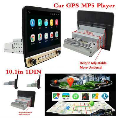 AU228.88 • Buy 10.1in 1DIN Android 9.1 HD Quad-Core Car Stereo Radio GPS Navigation MP5 Player