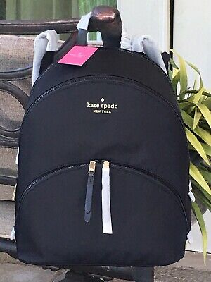 $ CDN175.16 • Buy Kate Spade Karissa Nylon Large Backpack Tote Bag Black $299