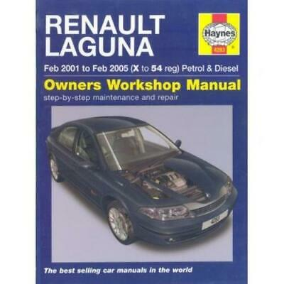 Haynes Service & Repair Manuals: Renault Laguna Petrol And Diesel Service And • 3.32£