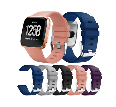 $ CDN9.99 • Buy Fitbit Versa Soft Silicone Sports Bands