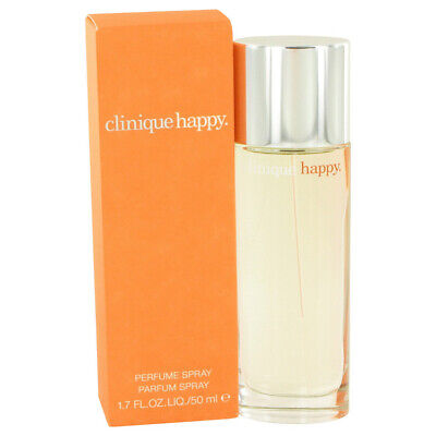 CLINIQUE Happy 50ml EDP Spray For Women NEW&SEALED • 24.95£