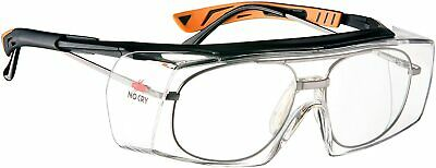 Over Specs Safety Glasses Anti Scratch Googles Wrap Around Lenses Uv4 Protection • 18.49£
