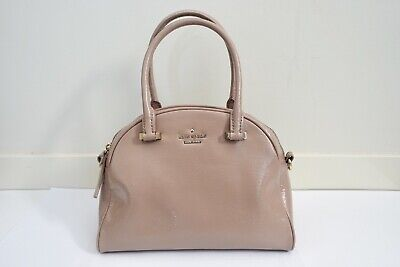 AU89 • Buy Pre-owned Kate Spade Nude/Pink Glossy Crossbody Bag With Handle