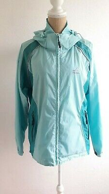 Peter Storm Size 18 Turquoise Hooded Rain Jacket Cagoul • 21£
