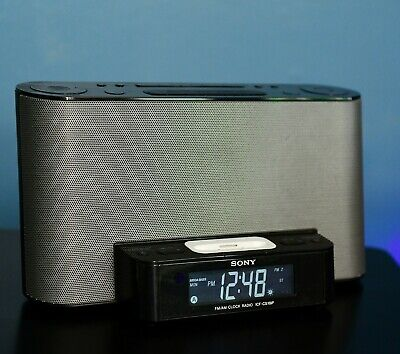 AU15.73 • Buy Sony Dream Machine ICF-CS10iP Alarm Clock AM/FM Stereo Radio W/ IPod IPhone Dock