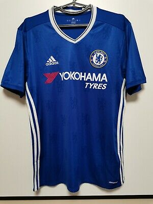Size M Chelsea 2016-2017 Home Football Shirt Jersey • 25£