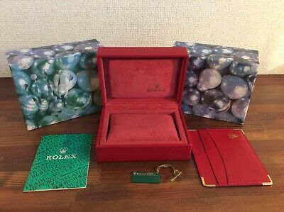 $ CDN130.83 • Buy Rolex Watch Box Montres S.A Geneve Suisse 14.00.71 + Cert Book & Holder + Tag