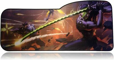 AU11.19 • Buy Overwatch Extended Size Genji Professional Gaming Mouse Pad - Anti Slip Rubber