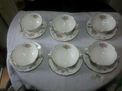 £18 • Buy Royal Albert - Tranquility - Soup Bowl With Under Saucer In Good Condition