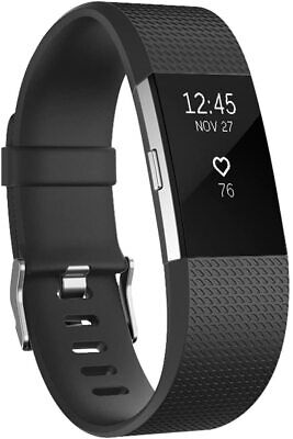 $ CDN5.99 • Buy Black Fitbit 2 Charge Watch Band Strap Small Size