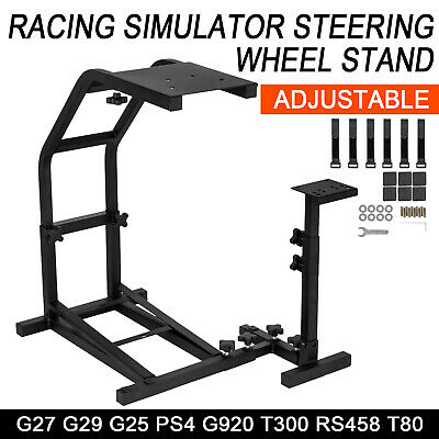 Racing Simulator Steering Wheel Stand For Logitech G29 G920 PS4 T300RS T500RS • 38.78£