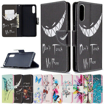 AU5.99 • Buy Case For Sony Xperia L4 L2 5 8 10 XZ2 Painted Magnetic Leather Wallet Flip Cover