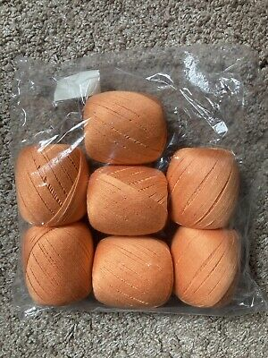 £14 • Buy Bergere De France Coton Fifty Yarn 4ply - Shade Clementine 29311 - 7 Balls