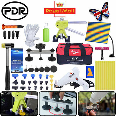 UK PDR Tools Paintless Hail Removal Kit Dent Repair Puller Lifter&Line Board Set • 50.78£