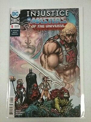$3.99 • Buy Injustice Vs Masters Of The Universe #1 2018 NW38