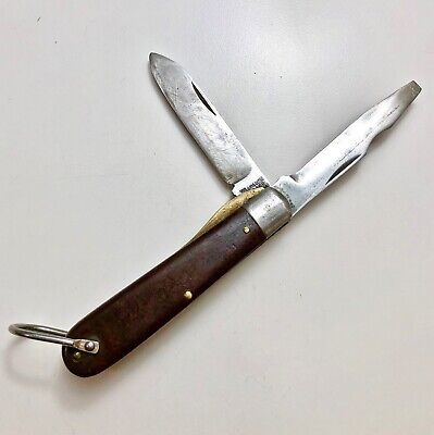 $34 • Buy Vintage M.KLEIN & SONS Electrician's 2-Blade Utility Knife - Very Rare 1960s-Era