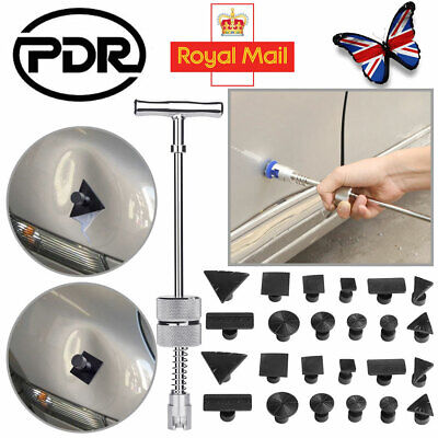 PDR Tools Car Dent Puller Tools Paintless Hail Removal T-Bar Slide Hammer W/Tabs • 16.38£
