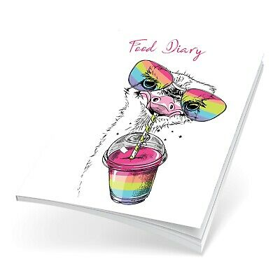 Food Diet Diary Weight Loss Slimming Journal Choose Your Plan Rainbow Bird 1388 • 6.99£