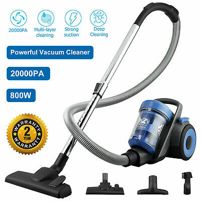 £48.44 • Buy Vacuum Cleaner Bagless Hoover Cyclonic Powerful Compact 800W 1.5L Cylinder HEPA