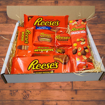 Ultimate Reese's Happy Birthday Gift Box, Full Of Peanut Butter Chocolate Treats • 15.99£