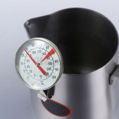 Clip On Metal Dial Thermometer Gauge -10-100℃ For Candle Soap Coffee Making @UK • 6.09£
