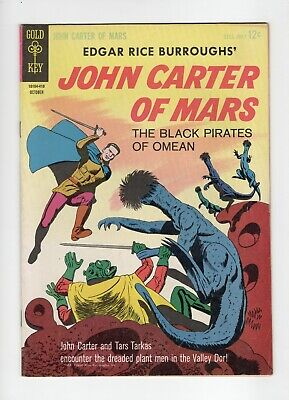 $5.88 • Buy Gold Key John Carter Of Mars The Black Pirates Of Omean #3 1964