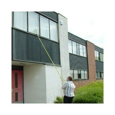 3.5m Telescopic Metal Window Cleaning Conservatory Glass Cleaner With Squeegee • 18.94£