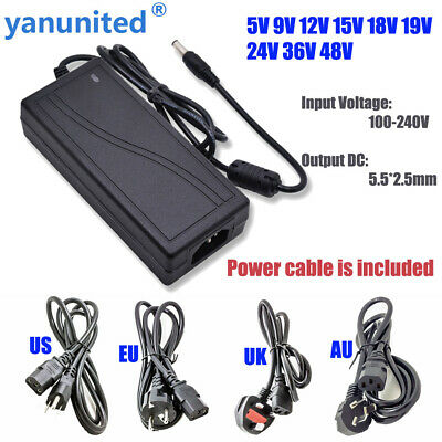$ CDN8.85 • Buy AC110 220V Power Supply Adapter LED Strip 1A 2A 3A 5A 8A 10A DC 5V 12V 24V