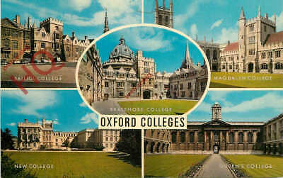 Picture Postcard; Oxford Colleges (Multiview) [Salmon] • 3.49£