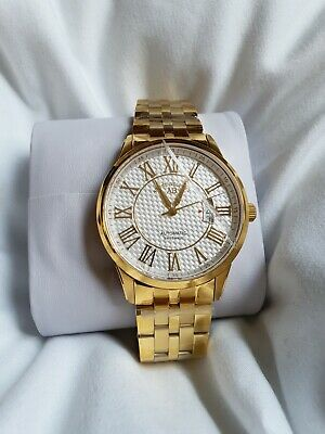 £799 • Buy ANDRE BELFORT  Le Maitre Gold-tone & White Luxury Watch