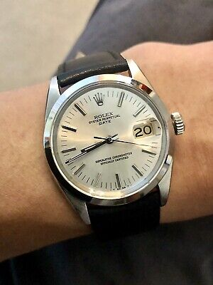 $ CDN6087.47 • Buy 1967 Vintage Special Rolex Oyster Perpetual Date 1500 Automatic Watch + Straps